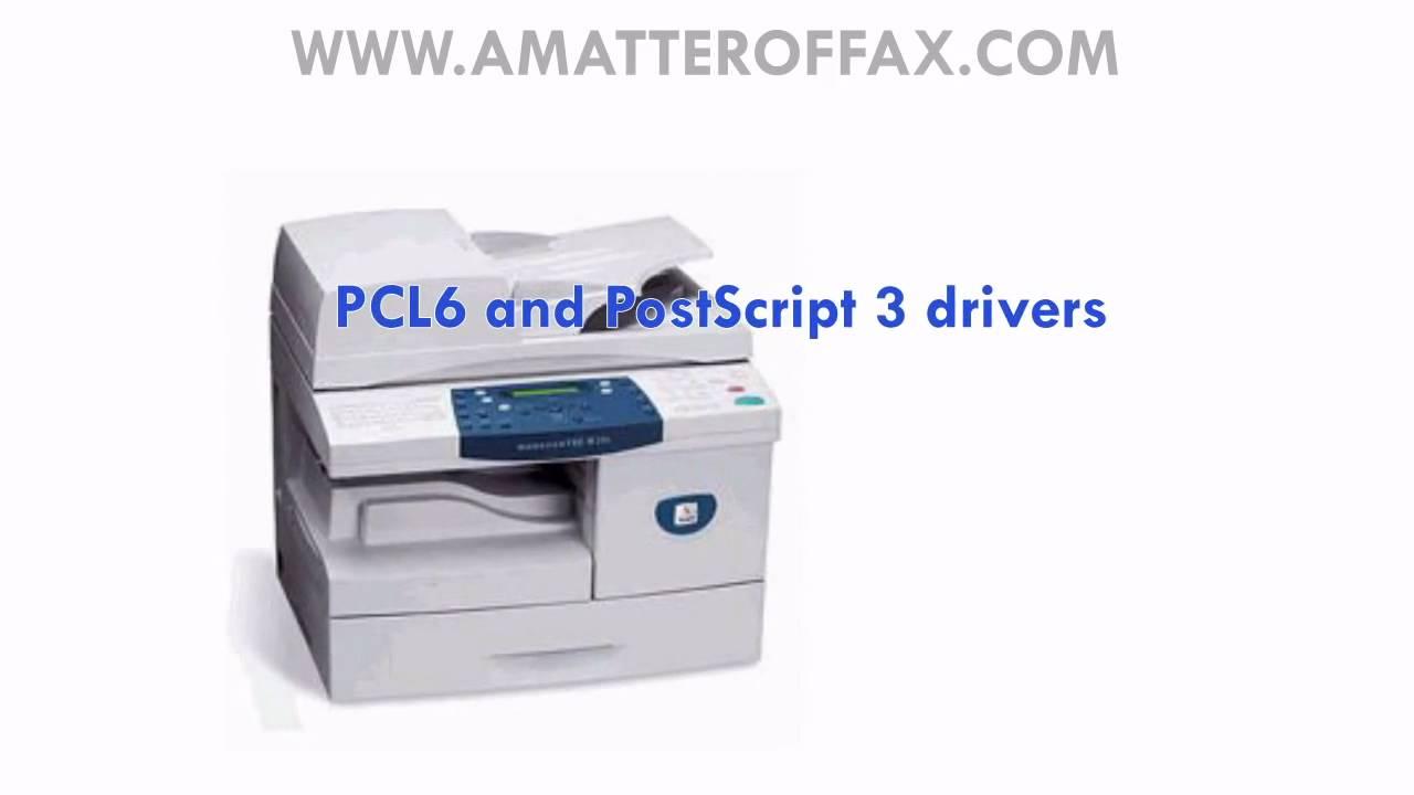 driver da impressora workcentre pe220