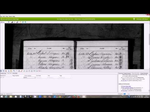 FamilySearch Indexing: How to Index the 1890 New York City Police Census