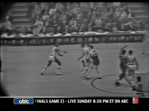 1963 NBA Finals Game 6 - Celtics vs. Lakers .avi