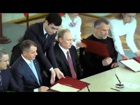 Смотреть Присоединение Крыма к России. (классный час в 8 классе). онлайн