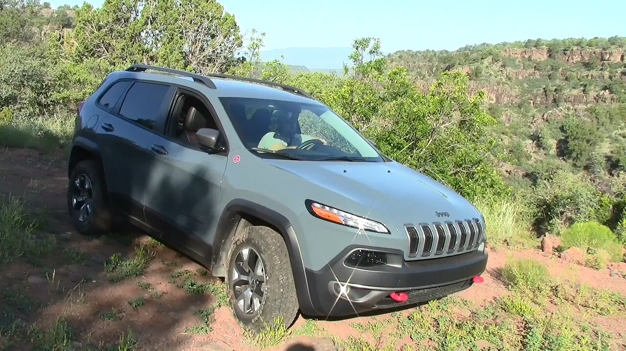 2015 Jeep Cherokee Trailhawk 4x4 V Cylinder Review