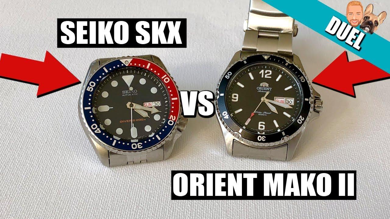 Seiko SKX009 vs Orient Mako 2 | What's The Best Diver Watch Under $200?