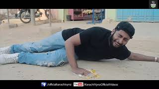 BURA WAQT   Karachi Vynz  funny video