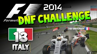 F1 2014 DNF Challenge #13 - Italy