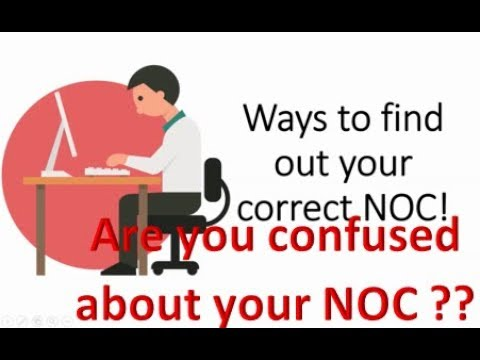 🇨🇦 🇨🇦 How To Find The Right NOC Code For Express Entry Canada