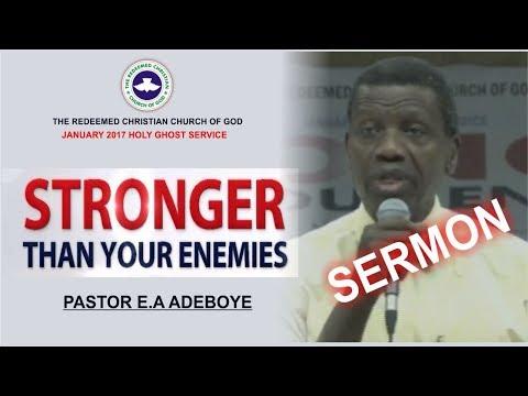 Pastor E.A Adeboye Sermon @ RCCG January 2018 HOLY GHOST SERVICE