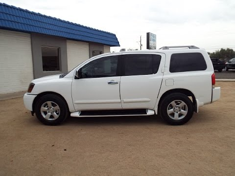 2004 nissan armada se 3rd row seat rear dvd pr1446 youtube. Black Bedroom Furniture Sets. Home Design Ideas