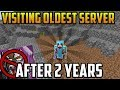 Joining the oldest server in Minecraft after 2 years... (2b2t)
