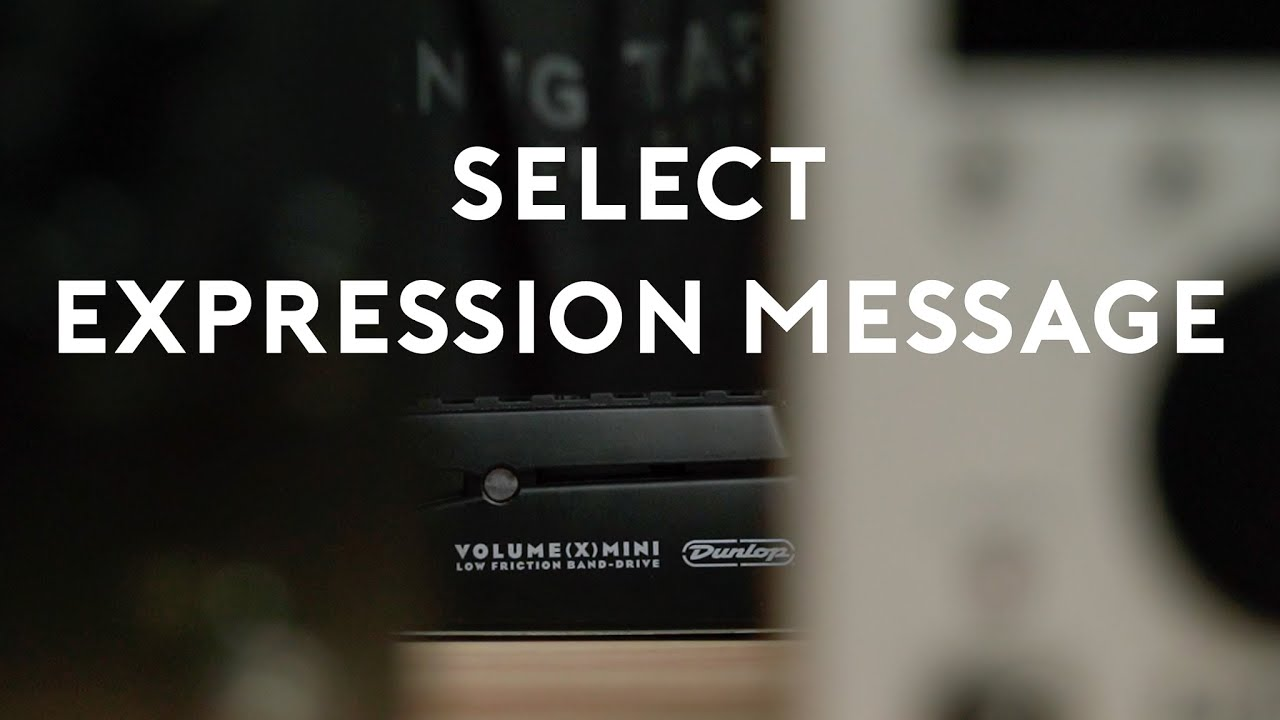 Select which Expression Messages you Want to Send