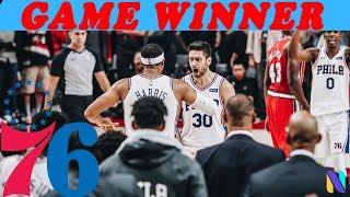 Furkan Korkmaz Philadelphia 76ers GAME WINNER vs Portland Full Highlights | 11 PTS 2 AST