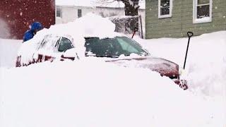 Dangerous winter weather grips northern U.S.