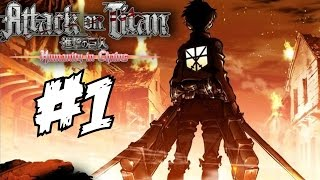 Attack on Titan: Humanity in Chains Walkthrough Part 1 Gameplay English Let