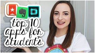 TOP 10 BEST APPS FOR UNIVERSITY / COLLEGE STUDENTS | 2017