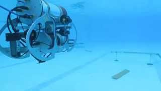 underwater video of auv amogh at save competition 2015