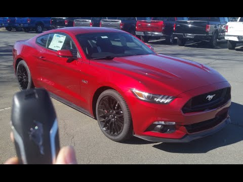 2016 Ford Mustang Gt Manual Start Up Exhaust Test Drive And Review