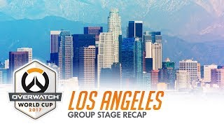 2017 Overwatch World Cup | Los Angeles Group Stage Recap