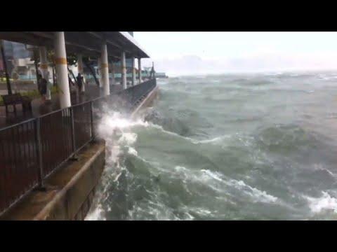 Hong Kong raises highest warning for Severe Typhoon Hato