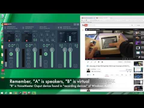 VB-Audio VoiceMeeter