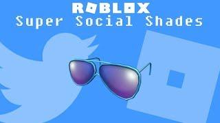 Roblox - Super Social Shades (Promocode)
