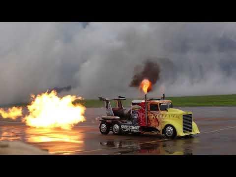 Shockwave Jet Truck Airpower Over Hampton Roads Saturday Show
