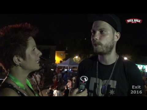 ROCK RADIO: S.K.A intervju @ Exit 2016
