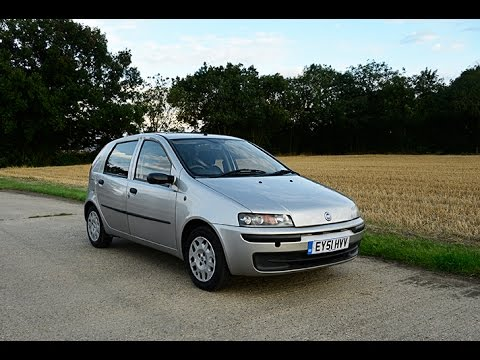 2001 fiat punto 1 2 litre 50k miles video review youtube. Black Bedroom Furniture Sets. Home Design Ideas
