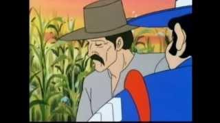 Zorro Cartoon In 3D - The Trap