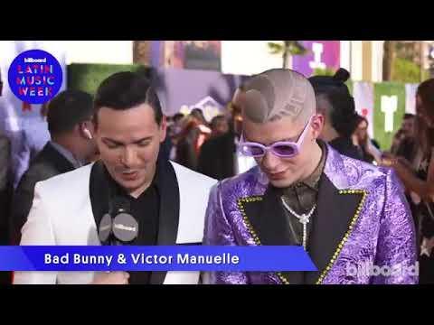 Victor Manuelle y Bad Bunny Hablan de la colaboracion Mala y Peligrosa