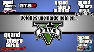 Detalles que no tomamos en cuenta en Grand Theft Auto || KGTAM