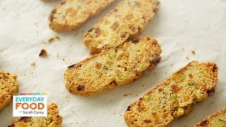 Apricot-pistachio Biscotti - Everyday Food With Sarah Carey