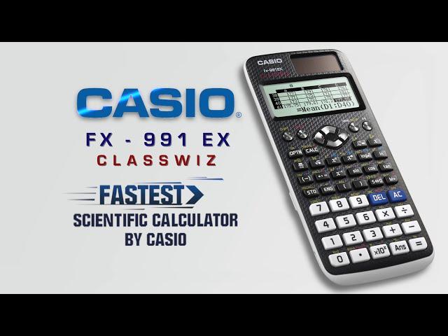 Casio Classwiz - The Fastest Scientific Calculator - A Film By Sarita Chadha
