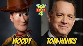 Toy Story 4 ★ Actors Behind The Voices 2019 ★ Disney Movie