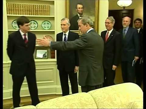 Max Westerman - RTL nieuws - Op visite in het Witte Huis (2004)