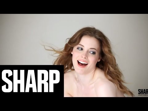 Community's Gillian Jacobs x Sharp Magazine SHARP  A BehindThes Look