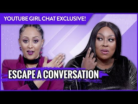 WEB EXCLUSIVE: What's the Best Way to Escape a Conversation?