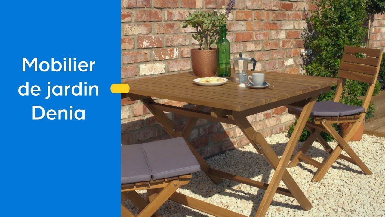 decouvrez le mobilier de jardin denia blooma castorama