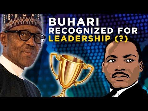 Martin Luther King Award Scandal: Buhari recognized for leadership?  Naij.com TV Latest Nigeria News