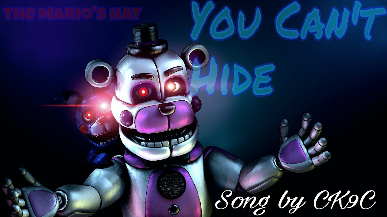 Fnaf Song You Can't Hide Roblox Id Sfm Fnaf You Can T Hide Preview Lunaticisgod By Razar