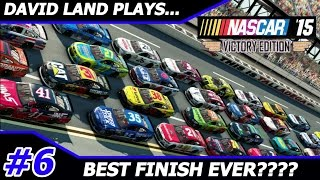 David Land Plays: NASCAR '15 Victory Edition 2016-- Talladega (BEST FINISH EVER???)