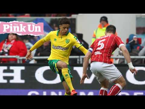 Jamal Lewis relishing his fast-tracked Norwich City breakthrough
