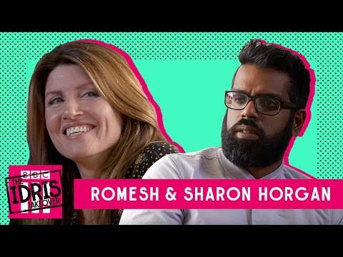 Romesh and Sharon Horgan talk about being borderline arseholes