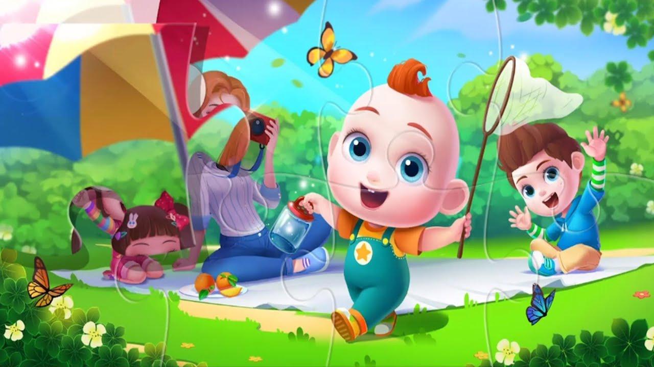 Super JoJo Kids Puzzles - Colorful Super JoJo Puzzzles For Kids - Educational Games - Babybus Videos