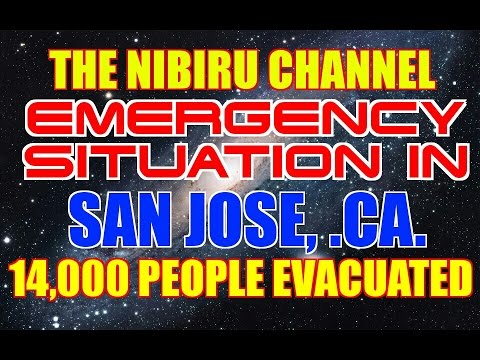 14,000 PEOPLE FLOODED & EVACUATED IN SAN JOSE, CAIFORNIA FEB. 22nd, 2017