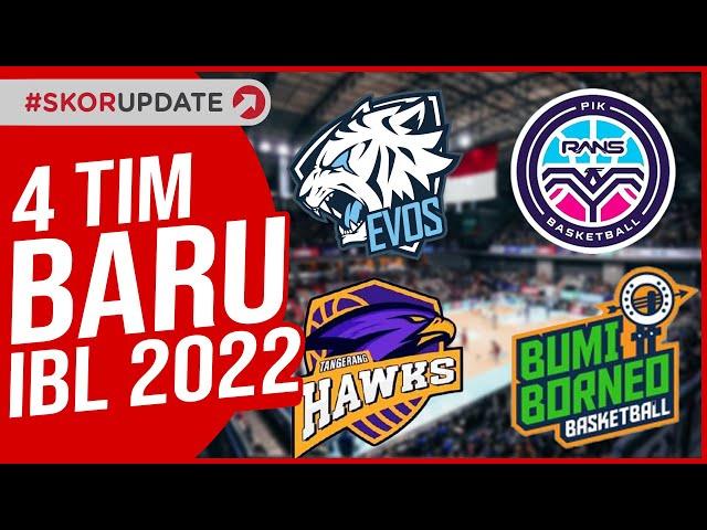 Kedatangan 4 Tim Baru, IBL 2022 Cetak Sejarah