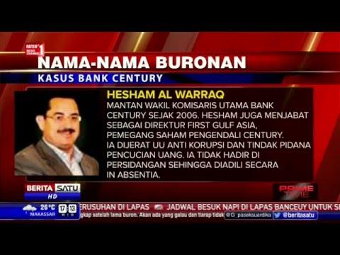 Nama-Nama Buronan Kasus Bank Century