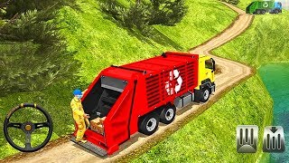 Offroad Garbage Truck   Dump Truck Driving   Android Gameplay