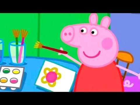 Peppa Pig English Episode 1 Season 5-8 Series 20 Minutes Full Screen