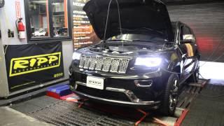 RIPP Superchargers 3.6 Grand Cherokee 400 Horsepower Dyno Run