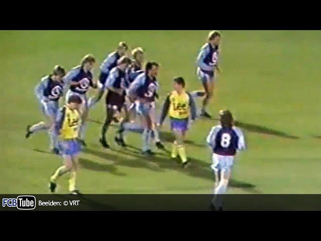 1985-1986 - Beker Van België - 02. 16de Finale - SK Sint-Niklaas - Club Brugge 2-7