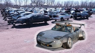 Taking The No F#cks Given Miata To The Junk Yard :'(